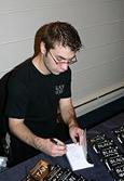 Matthew LeDrew signing