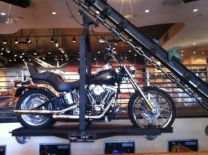 Motorcycle Carousel