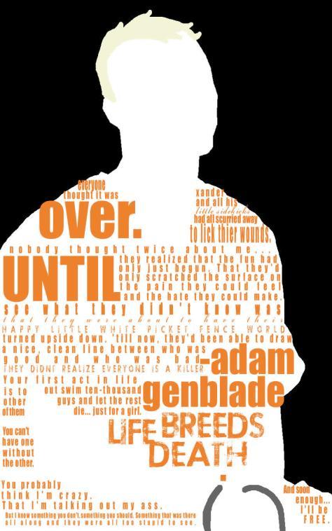 Adam Genblade quote