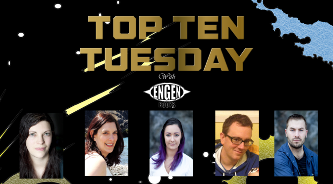 Engen Asks: What 2017 Debuts are you looking forward to? | Top Ten Tuesday