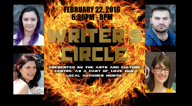 Coming Feb 22: Writer's Circle – Presented by the Arts & Culture Center