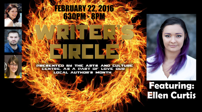 Tomorrow: Ellen Curtis at the #LOLANL Writer's Circle!