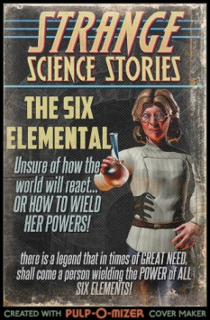 The Six Elemental, Pulp Parody