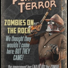 Zombies on the Rock, Pulp Parody