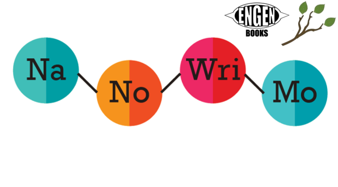 NaNoWriMo Engen Books / The Tutoring Center Events: All November long!