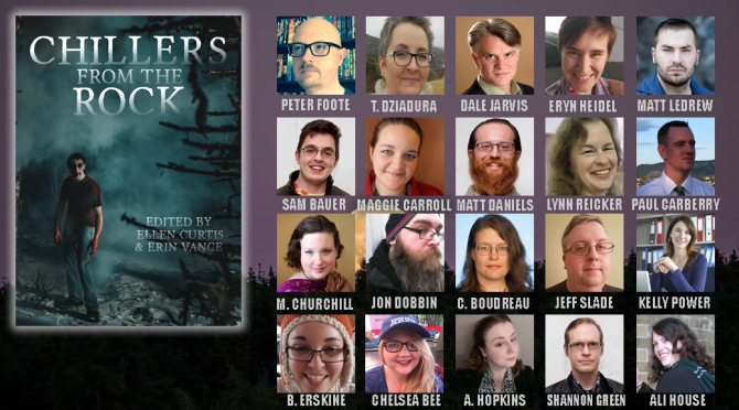 Shannon Green announced as a 'Chillers from the Rock' author!