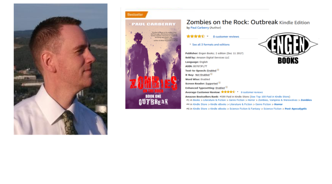Zombies on the Rock: Outbreak becomes #1 Bestseller on Amazon!
