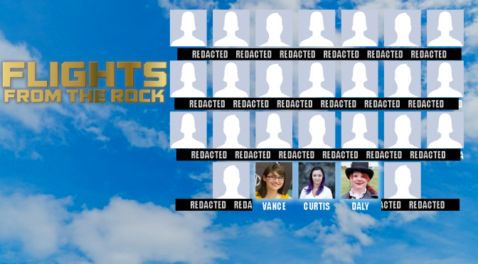 Your 'Flights from the Rock' editors!