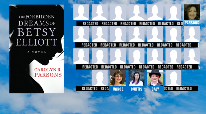Bestselling author Carolyn R. Parsons announced as the first Flights from the Rock author!