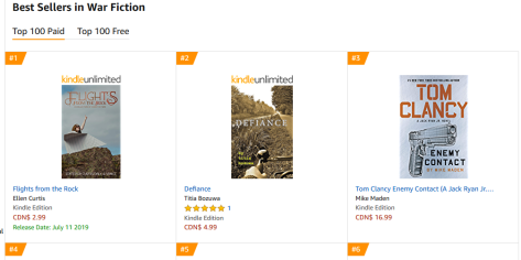 Bestseller in War Fiction