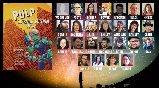 Your 'Pulp Science-Fiction from the Rock' Staff!