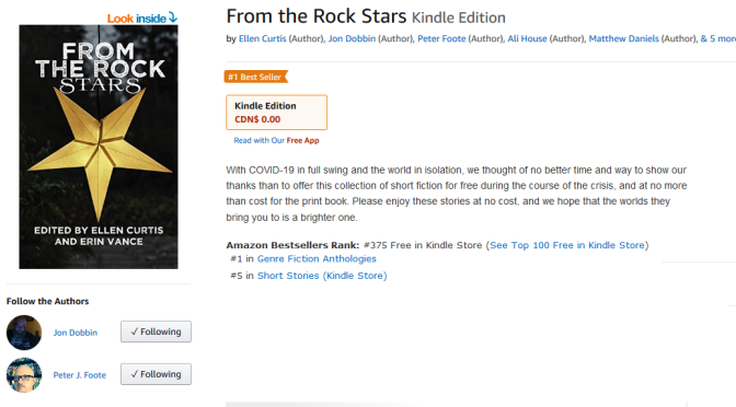 'From the Rock Stars' becomes Amazon Bestseller!