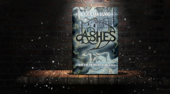 Order a SIGNED copy of ASHES by Lauralana Dunne!