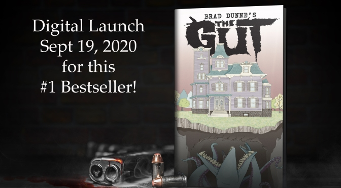 The Gut by Brad Dunne becomes #1 Bestseller on Amazon!